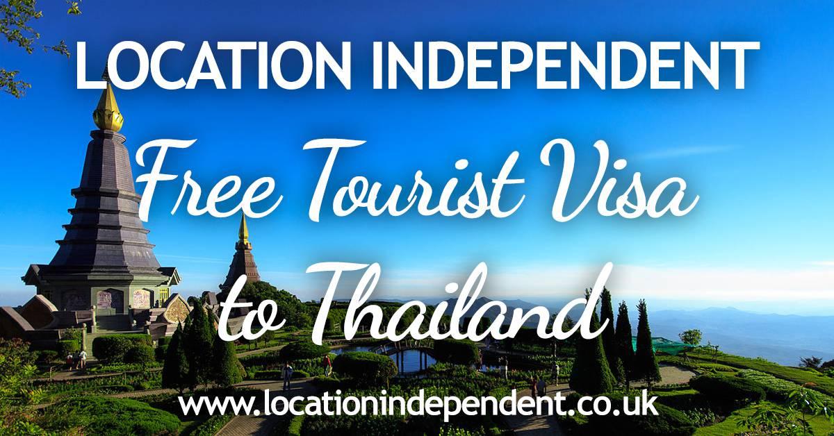 Free Tourist Visa to Thailand