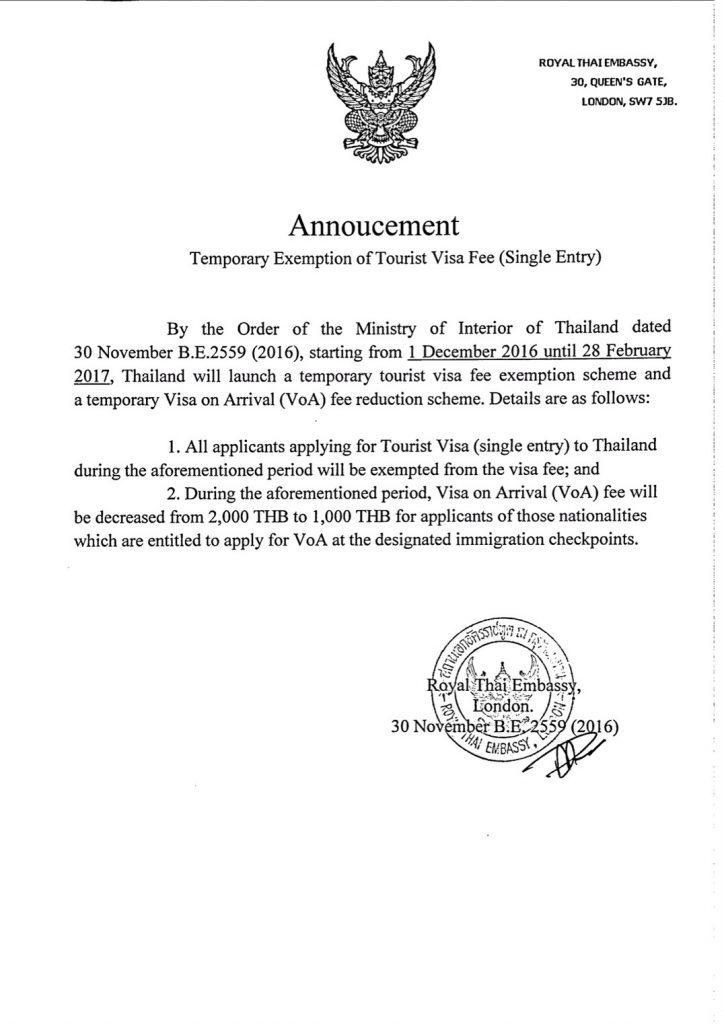 Thai Visa in London UK