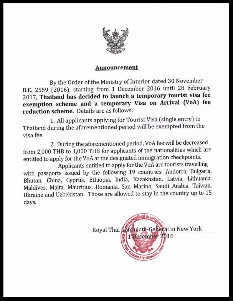 Thai Visa in New York
