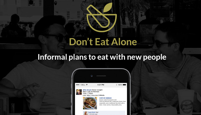 Don't Eat Alone