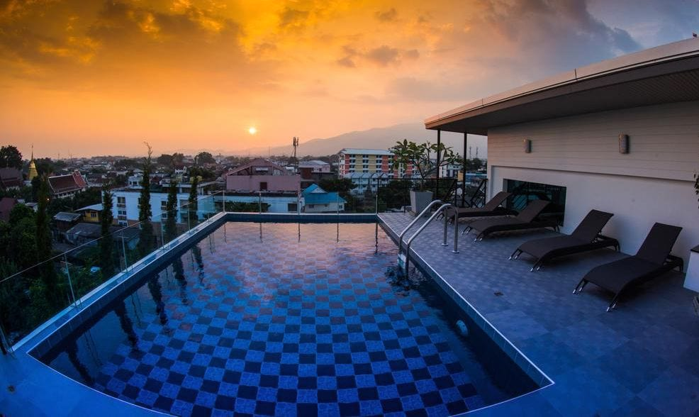 Smith Suites rooftop pool will make digital nomad problems disappear