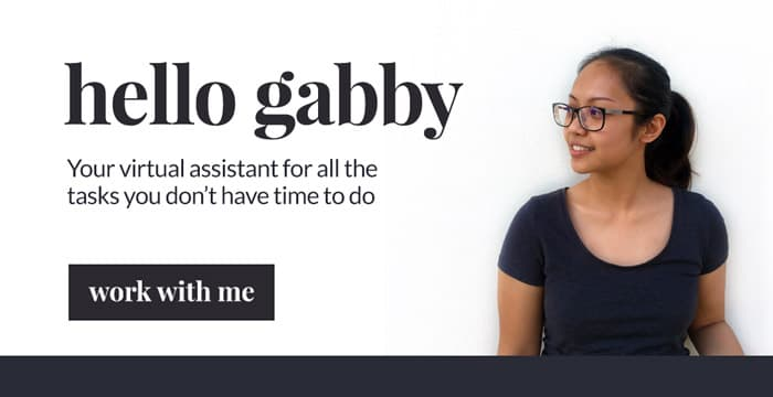 Gabby is a Virtual Assistant