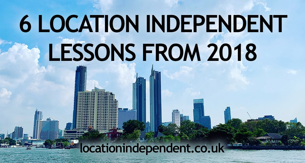 6 location independent lessons for 2018