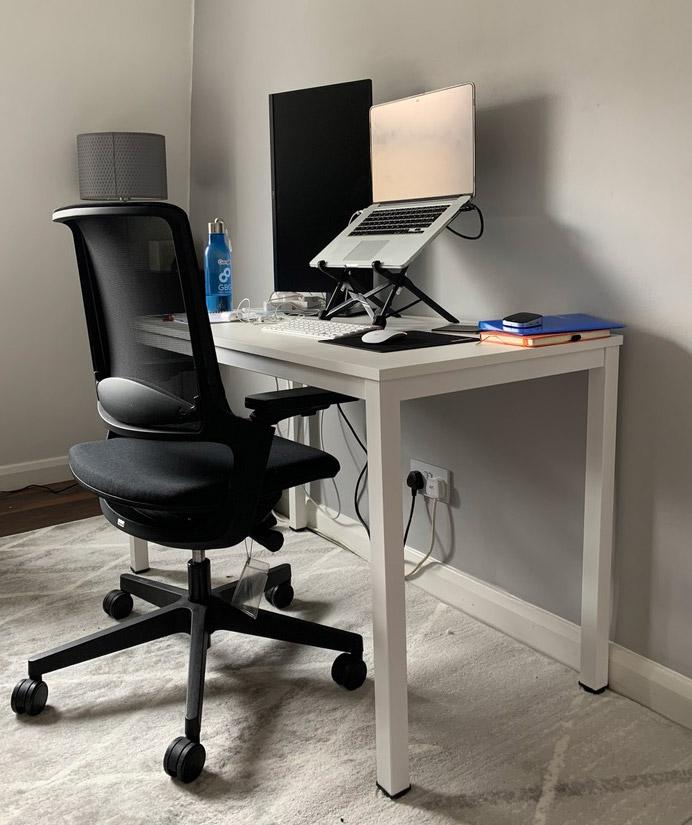 Remote work setup