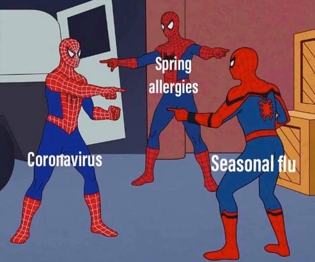 My Spidey-sense tells me I was ill